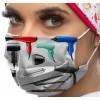 Máscara padrão estética